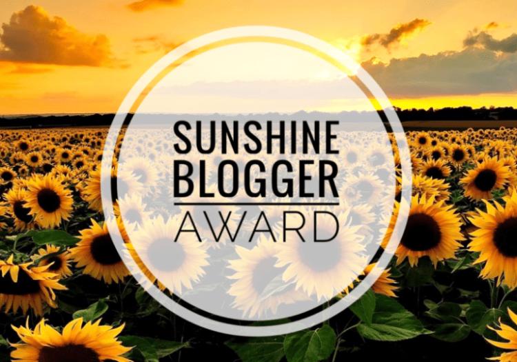 SunshineBloggerAwardNew